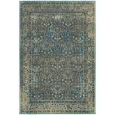 Oriental Weavers Pasha 1337B Navy and Grey